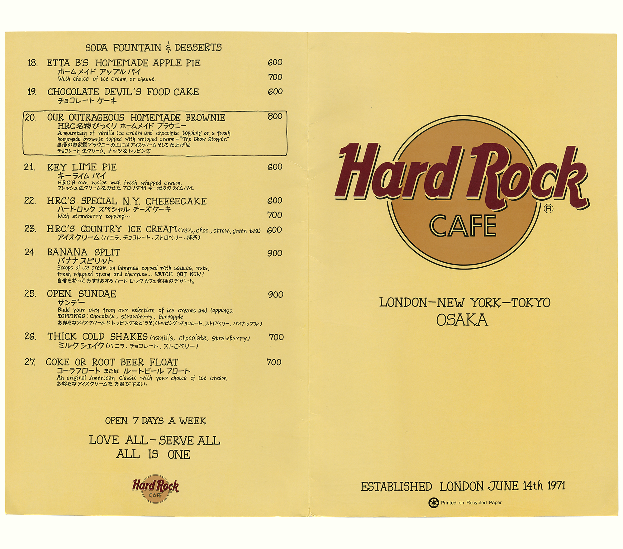 hard rock cafe essay The hard rock cafe at the hard rock cafe, like many organizations, project management is a key planning tool with hard rock's constant growth in hotels and cafes.